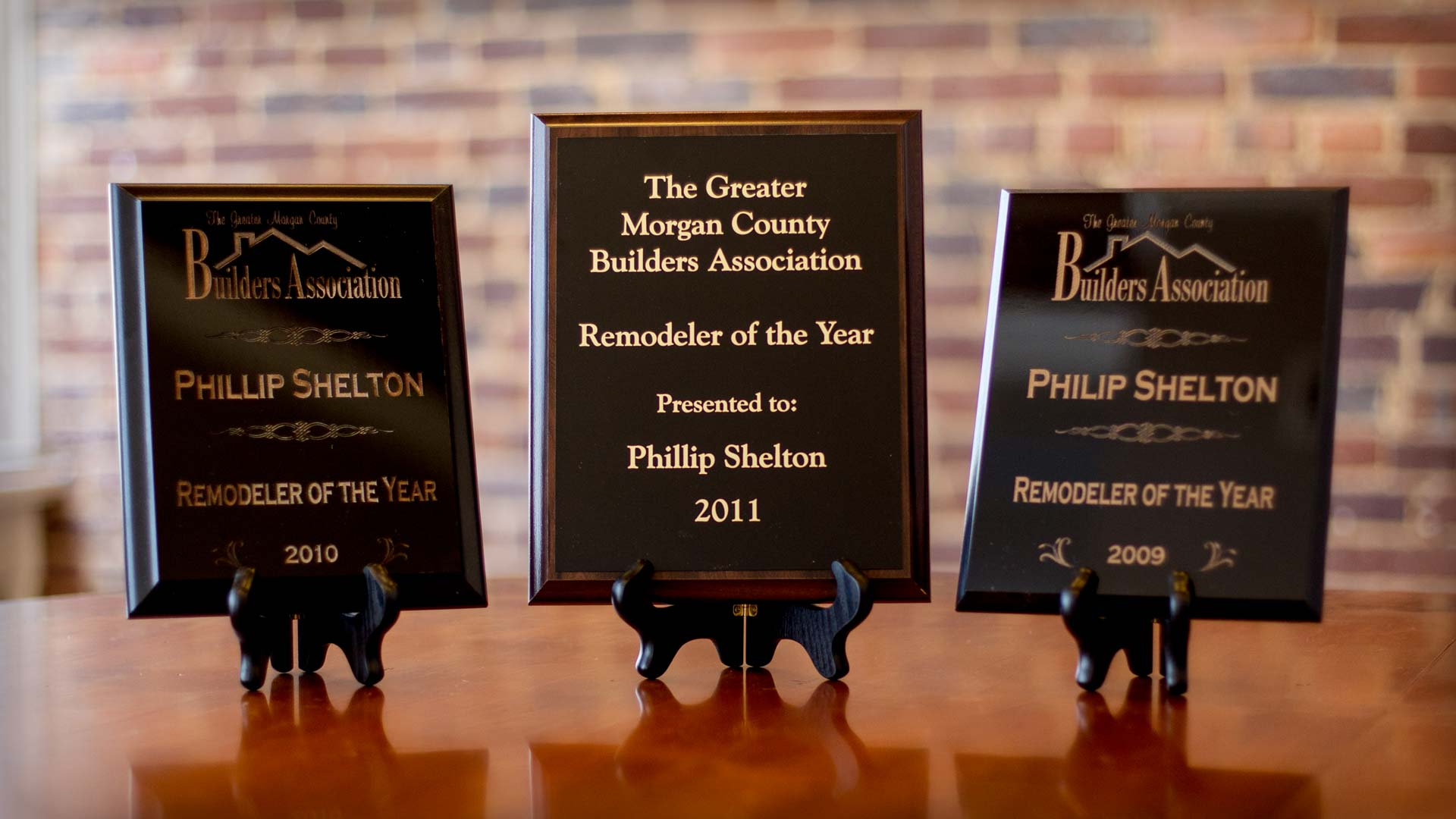 Shelton 2011 Remodeler of the Year Award